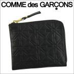 ショッピングギャルソン コムデギャルソン ミニ財布 コンパクト コインケース COMME des GARCONS レディース メンズ ブラック SA310EA EMBOSSED BLACK