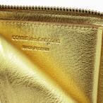 コムデギャルソン ミニ財布 コンパクト コインケース COMME des GARCONS レディース メンズ ゴールド SA3100G GOLD