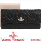 ショッピングヴィヴィアンウエストウッド ヴィヴィアンウエストウッド Vivienne Westwood 財布 ヴィヴィアン 長財布 レディース メンズ ブラック 321515 HARROW BLACK