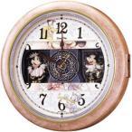 ディズニー からくり時計 FW561A 壁掛け 掛け時計 Disney ミッキー&フレンズ セイコークロック 電波 isney_y
