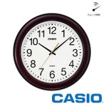 掛け時計 クオーツ スムーズ カシオ IQ-132-5JF CASIO 掛け時計 クロック スムーズ秒針 お取り寄せ