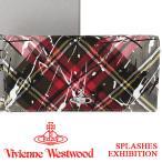 ヴィヴィアンウエストウッド 財布 ヴィヴィアン Vivienne Westwood 長財布 レディース メンズ チェック 51060025 SPLASHES EXHIBITION