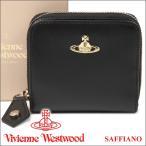 ショッピングウエストウッド ヴィヴィアンウエストウッド 財布 ヴィヴィアン Vivienne Westwood レディース メンズ 二つ折り財布 ブラック 321524 OPIO SAFFIANO BLACK