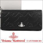 ショッピングヴィヴィアン ヴィヴィアンウエストウッド 長財布 ヴィヴィアン Vivienne Westwood レディース メンズ 財布 ブラック 51060025 CANTERBURY BLACK 18SS