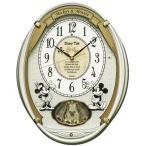 ディズニー からくり時計 FW567W 電波時計 掛け時計 クロック セイコー SEIKO ディズニータイム ミッキー&ミニー 動画