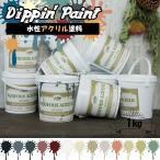 ペンキ 水性塗料 アクリル塗料 マットカラー 1kg 全13