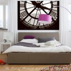 輸入壁紙 クロス オルセー美術館の時計 ドイツ製/1-609 Moments 瞬間 184×127cm 北欧 だまし絵