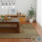 掘りごたつ用カーペット い草ラグ DXピア 191×250cmくりぬき:90×120cm い草カーペット