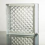 ガラスブロック 国際基準サイズ 世界で有名なブランド品 厚み80mmクリア色花のパターンgb0180