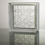 ガラスブロック 国際基準サイズ 世界で有名なブランド品 厚み80mmクリア色ラティスgb1480の画像