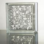 ガラスブロック 国際基準サイズ 世界で有名なブランド品 厚み80mmクリア色モザイクgb1780