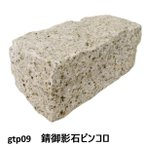 ピンコロ石割肌敷石ガーデニング庭錆御影石材ピンコロgtp09