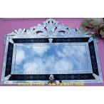 鏡ミラー姿見送料無料壁掛け♪美しいヨーロッパ風工芸鏡(m04)
