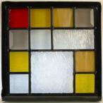 ステンド グラス ステンドグラス ステンドガラス デザインパネルsgsq214