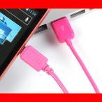 送料無料 充電ケーブル アンドロイド スマホ USBケーブル 充電 IUC-SP02P ゆうパケット