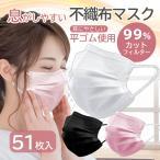マスク 不織布 カラー 血色マスク 冷感 不織布マスク 50枚 冷感不織布マスク ひんやりマスク 接触冷感 プリーツ式 飛沫防止 ウイルス対策 送料無料