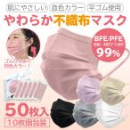 マスク 50枚 不織布マスク 51枚入り 箱入り 日本発送 使い捨て BFE 99% 大人用 子供用 三層構造 ウイルス 花粉対策 飛沫防止 抗菌 不織布 三層構造 送料無料