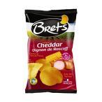 Brets(ブレッツ) ポテトチップス チェダー&オニオン 125g×10袋 スナック菓子 おやつ お菓子