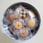 バケツ缶(クッキー) 個包装 自宅用 お菓子 ギフト