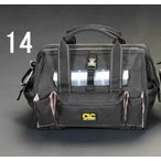 ESCO CLC シーエルシー 305x203x229mm ツール バッグ EA925C-14 工具入 工具箱 工具バック 職人 建築 建設 電工 電設