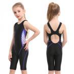 SUCCUL 競泳水着 ジュニア女の子 フィットネス 水着 子供 オールインワン スイミング スイムウェア トレーニング 水泳 ジム プール スパッツスーツ 9003