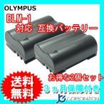 2個セット オリンパス(OLYMPUS) BLM-1 互換バッテリー