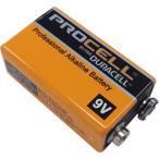 DURACELL PROCELL 9Vアルカリ電池 デュラセル プロセル