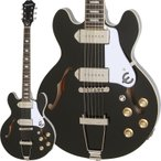 "Epiphone Limited Edition Casino Coupe (Ebony) 【数量限定!エピフォン純正ハードケース""940-E339""プレゼント】"