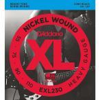 D'Addario XL Nickel Round Wound Electric Bass Strings EXL230