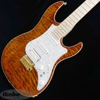 "FUJIGEN EXPERT EOS Selected Quilt Maple/Flame Neck (Tiger Eye/Brown Voodoo Back) ""REVOLE 30TH ANNIVERSARY"""