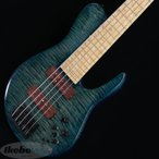 """Fodera Imperial 5 Elite MG Shape 35"""" / Flame Maple Top 【USED】"""