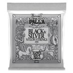 ERNIE BALL アーニーボール / BLACK&SILVER ナイロン弦