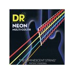DR / NEON BASS Guitar Strings MULTI-COLOR (DR-NMCB45/45-105)