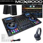 DENON DJ MCX8000 デジタルDJスタートセットB (USBメモリ16GB×2本プレゼント)