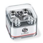 Schaller Strap Lock System S-Locks  14010301/Satin-Chrome