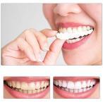 1ペア偽歯上部偽 偽歯 カバー スナップオン 即時歯 化粧品 義歯ケア オーラルケア