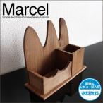 ペンスタンド  木製 ブラウン 天然木 カントリー アンティーク ペン立て 通販 マルセル