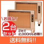 パネルヒーター 遠赤外線 送料無料 2台で2,000円お得!サンルミエ キュート (パールゴールド)×2台セット
