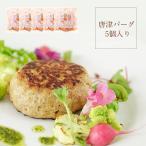 唐津バーグ5個 ハンバーグ ギフト 送料無料 いきや食品 肉汁たっぷり お取り寄せグルメ