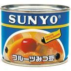 サンヨー堂 アイサンヨー フルーツみつ豆 6号 200g×12入