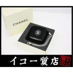 ショッピングシャネル ストラップ シャネル コンパクトミラー付きストラップ プラスチック ブラック 限定品 未使用品