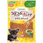 ライオン商事 PETKISS ペットキッス つぶつぶチップ入り ササミスティック 野菜入り 60g