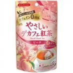 ティーブティック やさしいデカフェ紅茶 ピーチ 10TB×12セット 50554【代引き不可】
