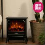 暖炉ヒーター 電気ストーブ コンパク  アンティーク