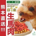 ドッグフード 馬肉 犬 国産 生肉  熊本直送 新鮮 生馬肉 パラパラミンチ 300g×3袋 イリオスマイル ポイント消化