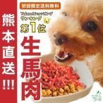 馬肉 犬 生肉 犬用馬肉 初回限定 熊本直送 新鮮 生馬