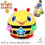 ボール おもちゃ 光る 動くおもちゃ 知育玩具 ブライトスターツ ロール&チェイス バンブルビー  6ヶ月 9101
