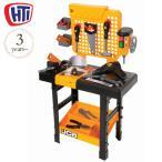 大工 おもちゃ 大工さん 知育玩具 2歳 3歳 4歳 HTI(エイチティーアイ) JCBエレクトロニックワークベンチ  HT1415549