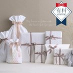 お祝い ギフト包装 プレゼント メッセージカード 【おまかせラッピング】有料ラッピング(星柄リボン) wrapping