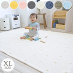 キルティングマット 赤ちゃん 床 プレイマット D BY DADWAY ディーバイダッドウェイ イブル・キルティングマットXL W150×H200cm